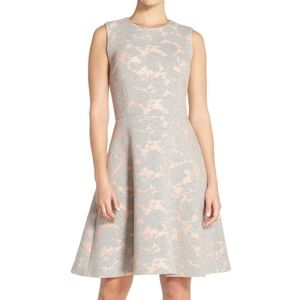 Nordstrom Maggy London Pink Grey Dress Size 4 NWT